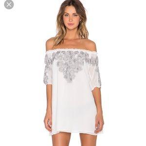 NWOT For Love & Lemons Sicily Mini Dress